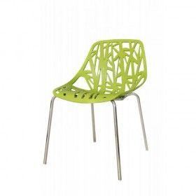 Quadre Design Krzesło inspir. Forest  zielone