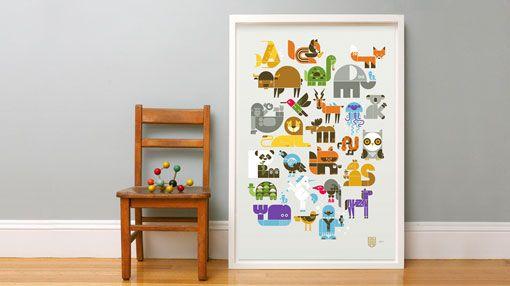 screen_print_lifestyleBaby Room Art, Kids Stuff, Norsu Art, Fancy Baby, Http Www Weesociety Com, Create Design Typography, Baby Prints, Wee Society, Baby Stuff