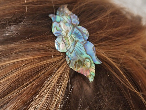 aww tiny one. Vintage 1970s Small Hair Clip by PetasVintageBoutique on Etsy, £3.99