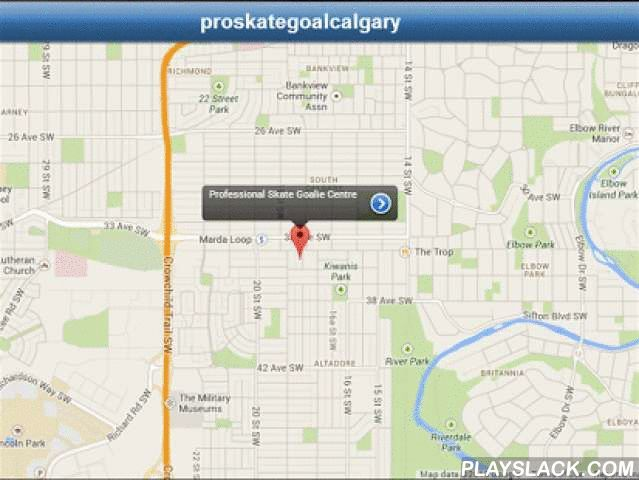 Professional Skate Goalie Cntr  Android App - playslack.com , OUR APP IS HERE!Welcome to Professional Skate Goalie Centre, located in Calgary, CANADA.This app will keep you informed and up to date with the latest in store arrivals from Reebok, CCM, Bauer, Vaughn & Brian's. You will also have advance notice of impending events, sales & new product launches. Be informed all the time of all that is goalie.