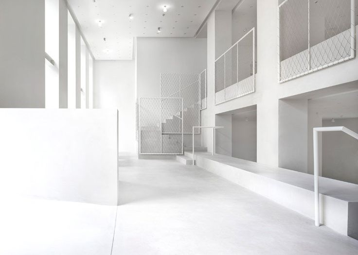 Driade Milan showroom by David Chipperfield