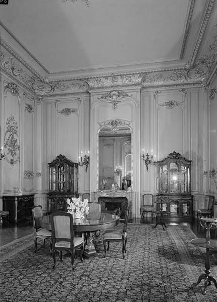 The Breakers (Cornelius Vanderbilt House), Newport Rhode Island BREAKFAST ROOM FROM THE NORTHEAST