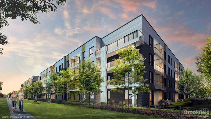 Brookfield Residential - Arbors Condos Community in Aurora