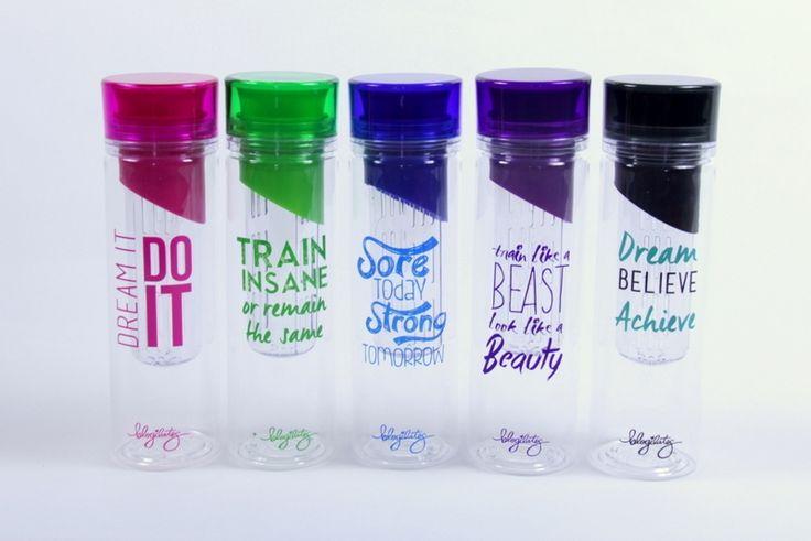 Train Like a Beast Detox Water Bottle | Blogilates Designs