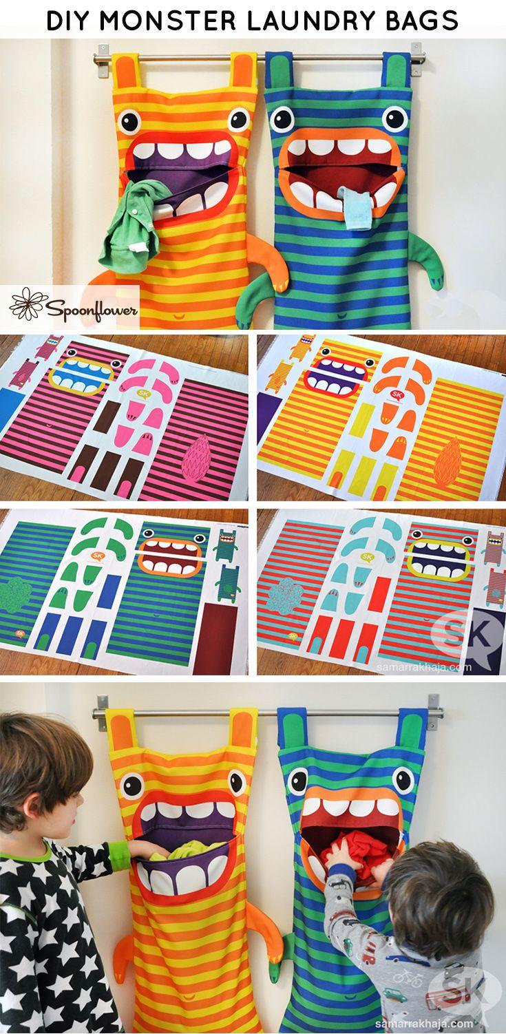 Boa idéia para roupas dos pequenos!
