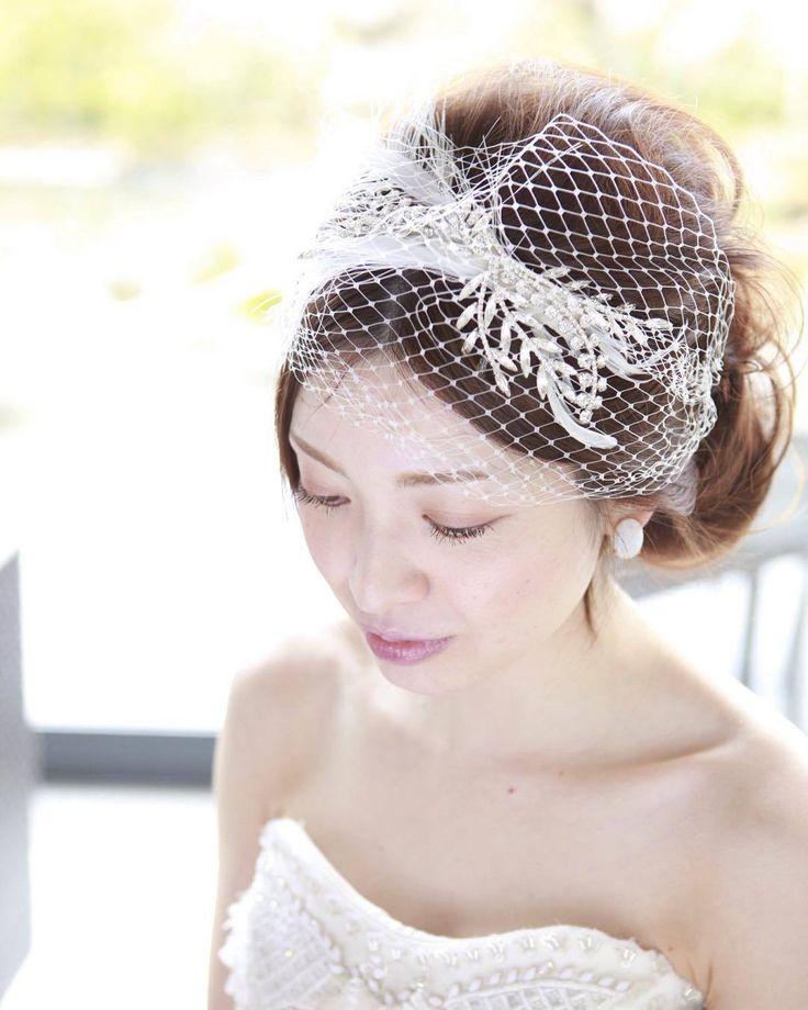 【Wedding】シンプルスタイルで上品に | 堀江・新町のエステサロン・ネイルサロン・アイラッシュ・メイク atelier d.d.のヘアスタイル | Rasysa(らしさ)