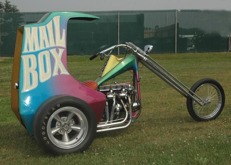 Ed Roth's Mail Box '67