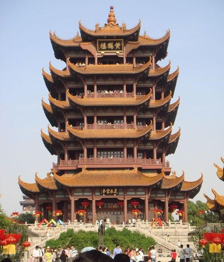 Ancient Chinese Architecture and Historical Towns‎ - Huang-he tower