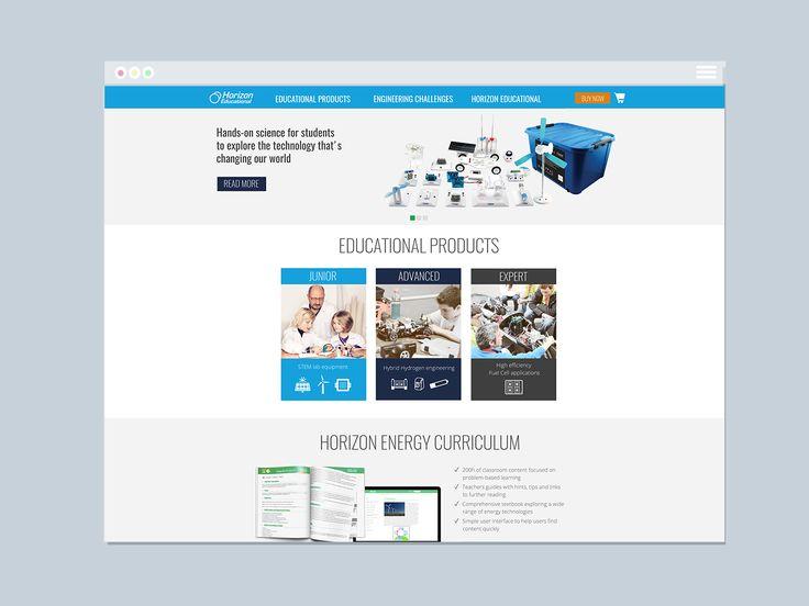 Horizon Educational Website | Varró Joanna Design | Website | Web Design | Graphic Design | Inspiration | Graphic Designer