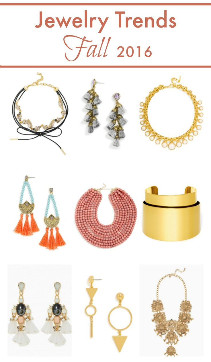 Jewelry Trends: Jewelry Trends Fall 2016