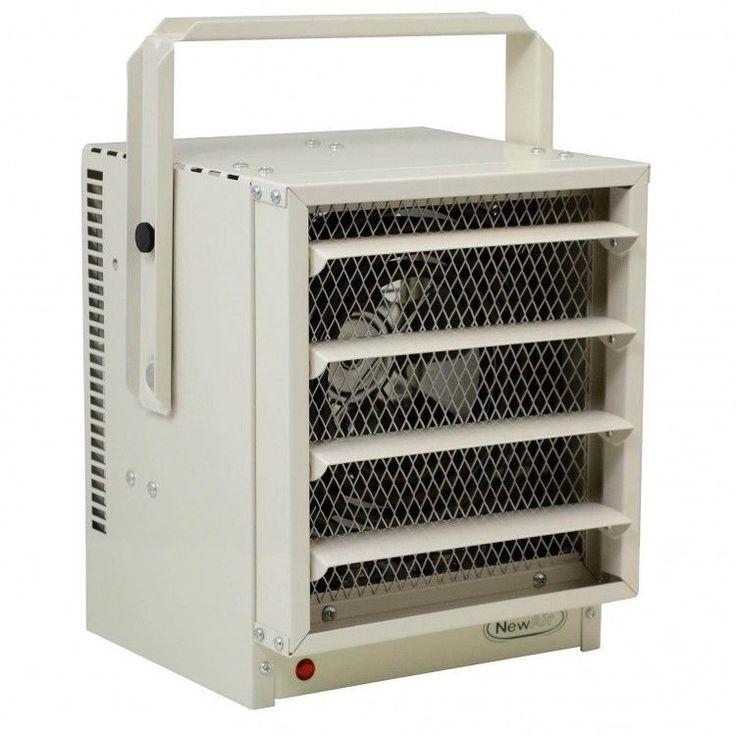 Electric Garage Heater 5000 Watts Wall Ceiling Mountable Workshop Portable Heat #ElectricGarageHeater