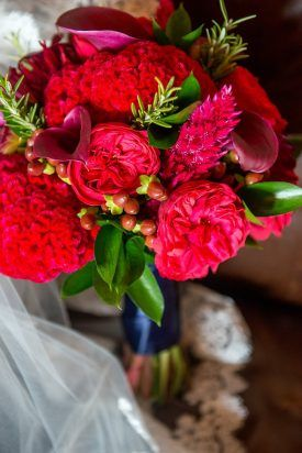 Red Garden Rose Bouquet exellent red garden rose bouquet roses and orange dahlias in