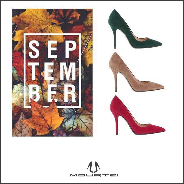 #september #pumps #fallcolors #shoes #mourtzi