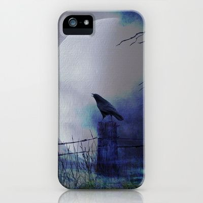 Whit this beautiful moon iPhone & iPod Case by Oscar Tello Muñoz - $35.00