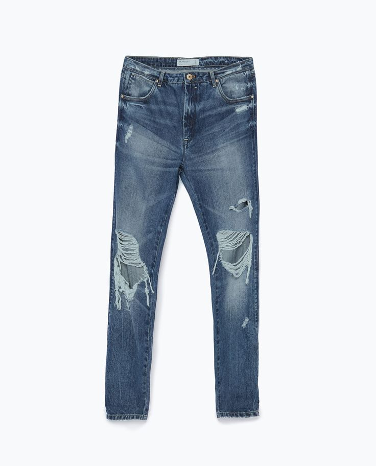 Image 8 of DISTRESSED JEANS from Zara