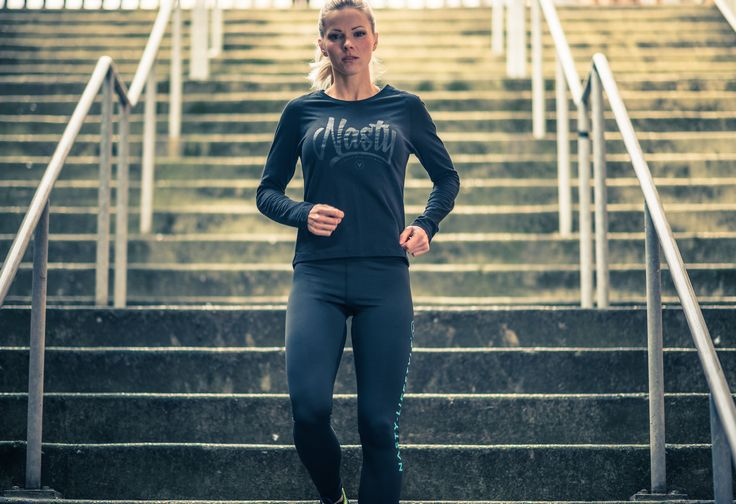 Long Sleeve Gaffiti Top by Nasty Lifestyle.  Get yours today!  CrossFit Apparel, Gym Apparel, Fitness Apparel, Womens Lifestyle product,