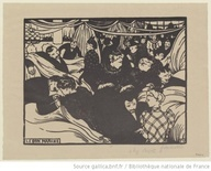Le Bon Marché : [estampe] / Félix Vallotton - 1893