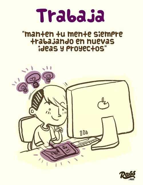 """""""Lo que un creativo debe hacer pero se le olvida"""" - ross.mx"""