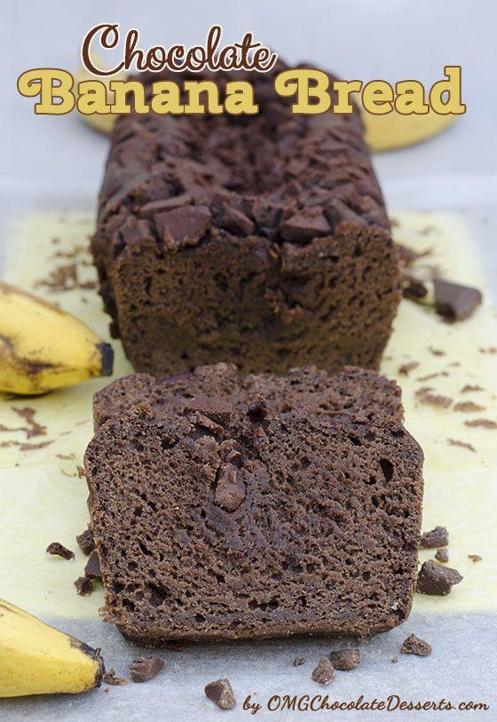 Chocolate Banana Bread -  Chocolate Desserts