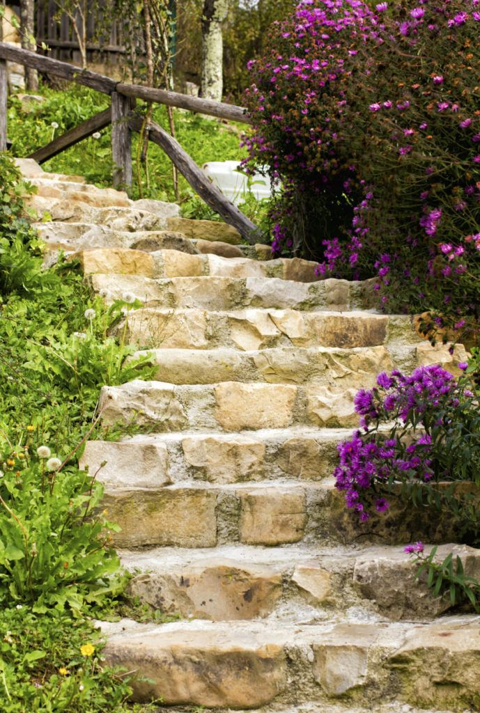 37 magnificent backyard stone step ideas outdoor stone on extraordinary garden stone pathway ideas to copy id=71323
