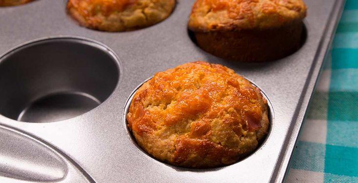 10 ideas para hacer Muffins salados de avena - Avena Canadiense - Avena Canadiense