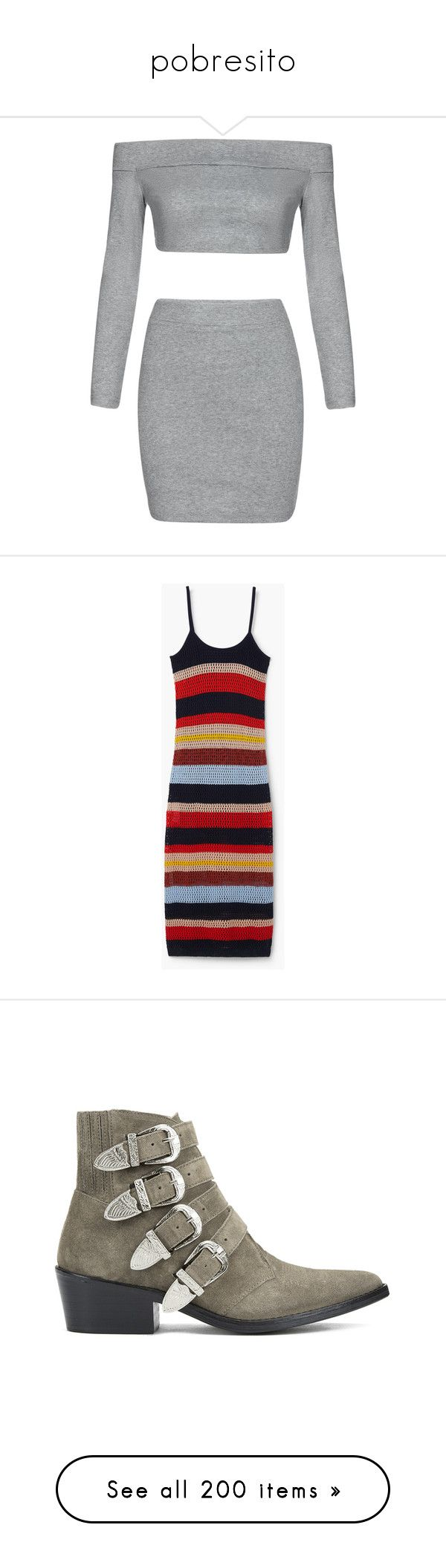 """""""pobresito"""" by whatevurs ❤ liked on Polyvore featuring dresses, skirts, vestidos, outfits, bottoms, grey, mango, dark navy, thin strap dress and side slit dress"""