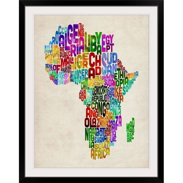 You'll love the 'African Countries Map' by Michael Tompsett Textual Art at Wayfair - Great Deals on all Décor & Pillows products with Free Shipping on most stuff, even the big stuff.