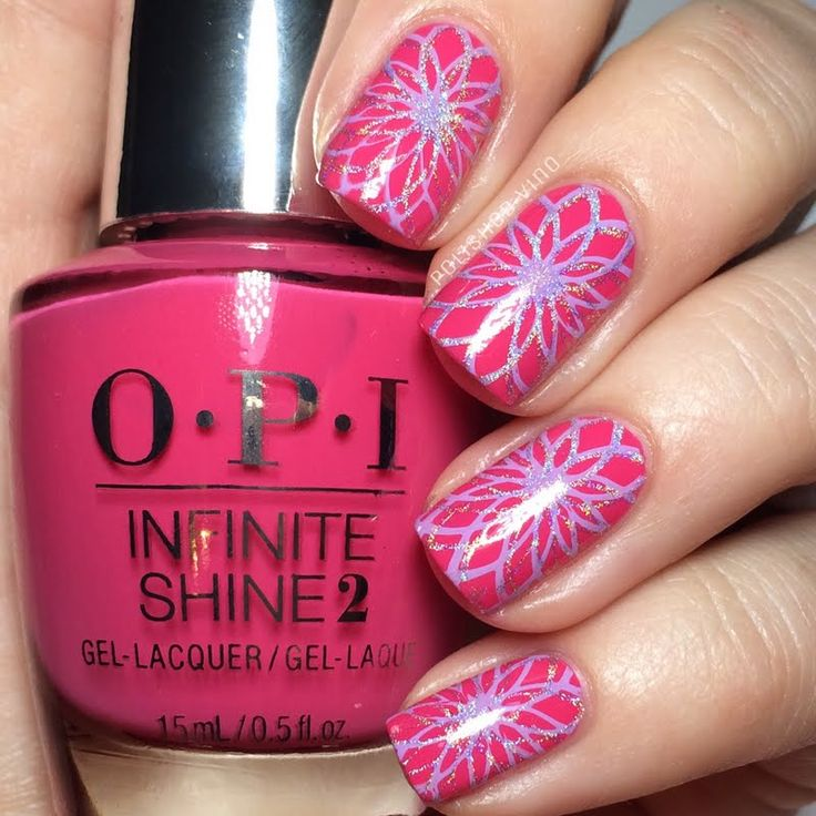 Preen.Me VIP Chrissy shows off this fabulously chic nail art using her gifted OPI #InfiniteShine 2 Icons Nail Lacquer in Strawberry Margarita. Make it yours by clicking through.