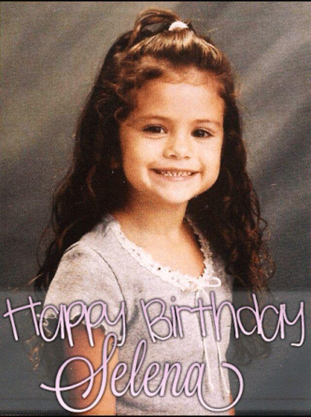22 Temmuz 1992 Canım Selena Gomezin Doğum Günü❤️Happy birthday Selena Gomez (July 22, 1992)