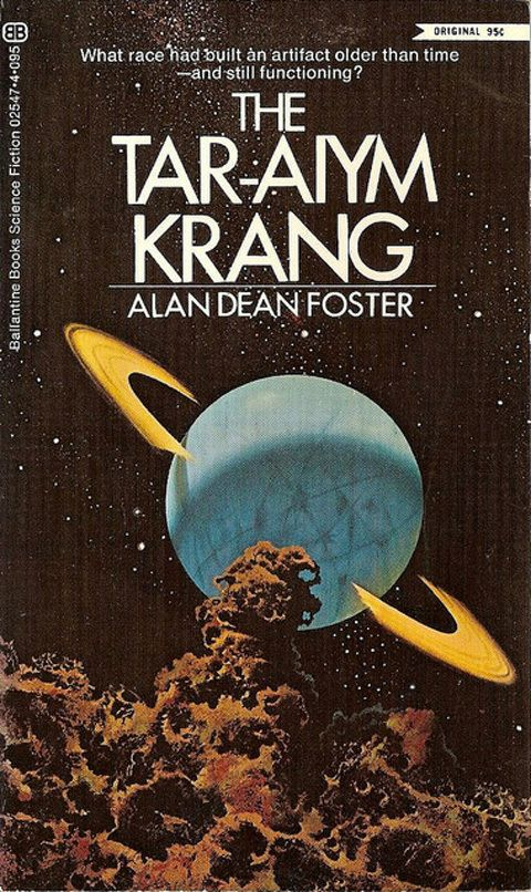 Alan Dean Foster, The Tar-Aiym Krang.  Great read!
