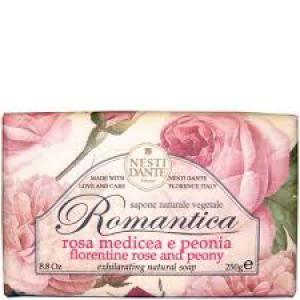 Nesti Dante Romantica - Rózsa és peónia natúrszappan - 250 gr