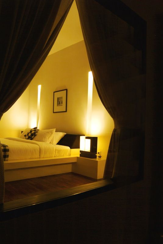 The Bedroom at The Seminyak Suite Private Villa. #bali #seminyak #villas #luxuryaccommodation http://www.the-seminyaksuite.com/