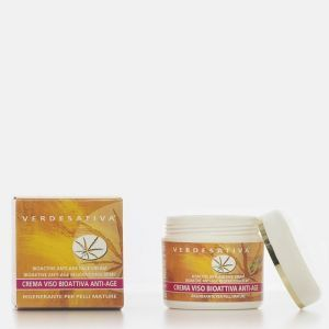 Bioactive Anti-Aging Face Cream - Regenerating for mature skin Verdesativa - Verdesativa - Facecare Moisturisers - Natural and organic certified cosmetics