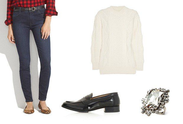 thanksgiving hostess outfits: Lucky Magazine