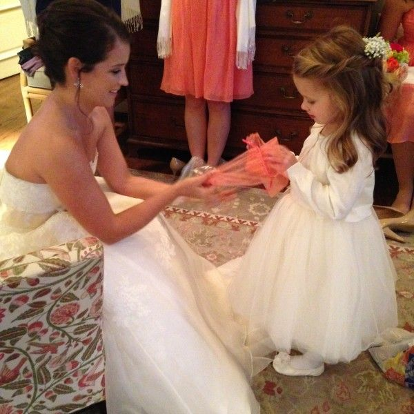 Kids at your wedding: Give the kids who play a part in your ceremony a little gift.