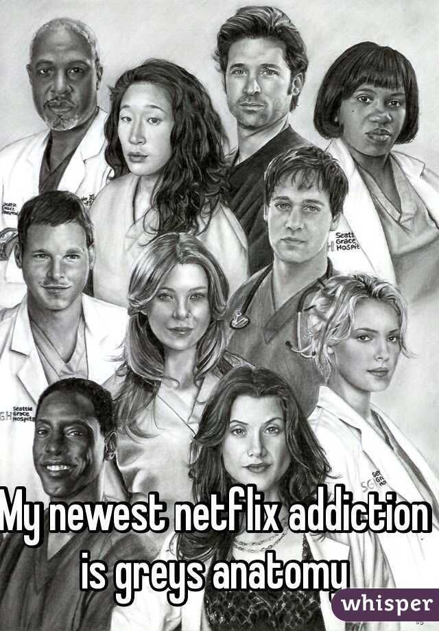 My newest netflix addiction is greys anatomy