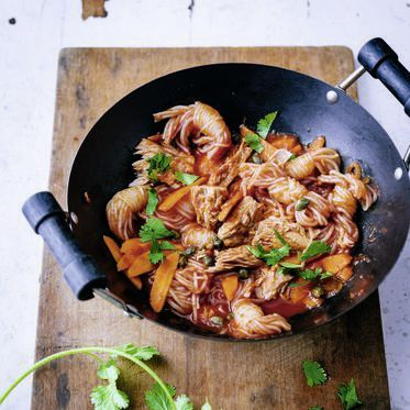 Shirataki-Nudeln mit Thunfisch Rezept | Küchengötter