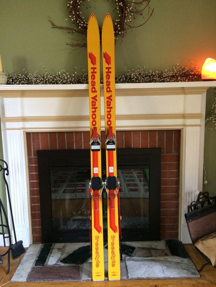 Vintage Head YAHOO 'Freestyle' Snow Skis For Sale with Look Nevada/N17 Bindings!