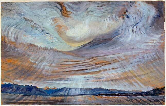 Sky - Emily Carr, 1935-36.