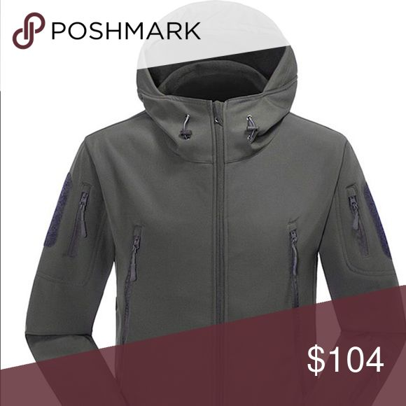 🎁 Wild Oasis Men's Gray Waterproof Hooded Jacket ***Please note this jacket does run small. Go one size up. Brand new for Fall Winter 2017 is the perfect fully lined lightweight jacket that will keep you warm and protected from Rain Wind and snow. The hood is adjustable and there's plenty of pocket space, 2 large Front zip pockets 3 Sleeve Zip pockets. Made of Polyester machine Wash and Tumble Dry Wild Oasis Jackets & Coats