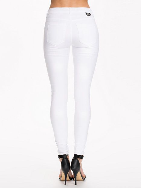 Plenty Denim Leggings - Dr Denim - White - Jeans - Clothing - Women - Nelly.com