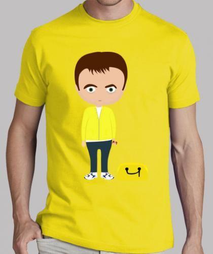 #Ragazzo manica corta giallo limone  ad Euro 26.00 in #Tostadora #T shirt uomo