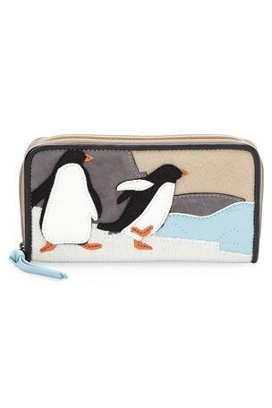 Penguin Fabric Purse