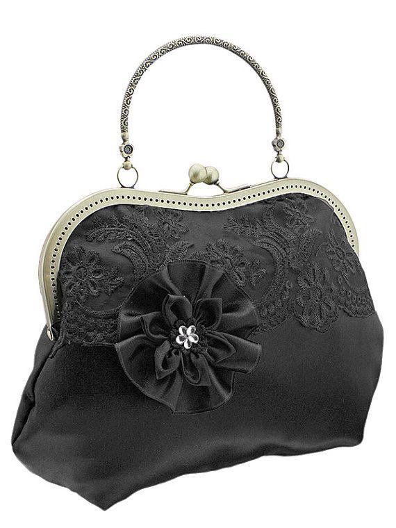 handbag in glamour formal or vintage style by FashionForWomen. https://www.etsy.com/listing/209753950/handbag-in-glamour-formal-or-vintage?ref=shop_home_active_9