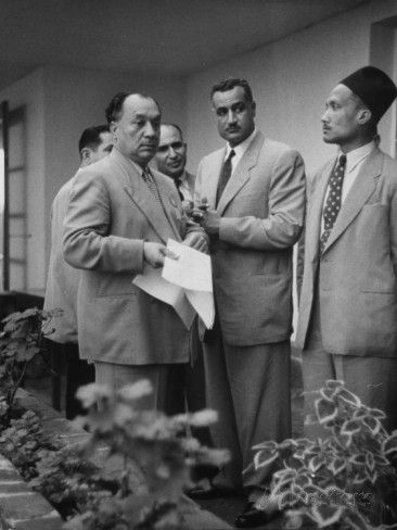 Gamal Abdul Nasser of Egypt Attending the Bandung Conference Premium Photographic Print