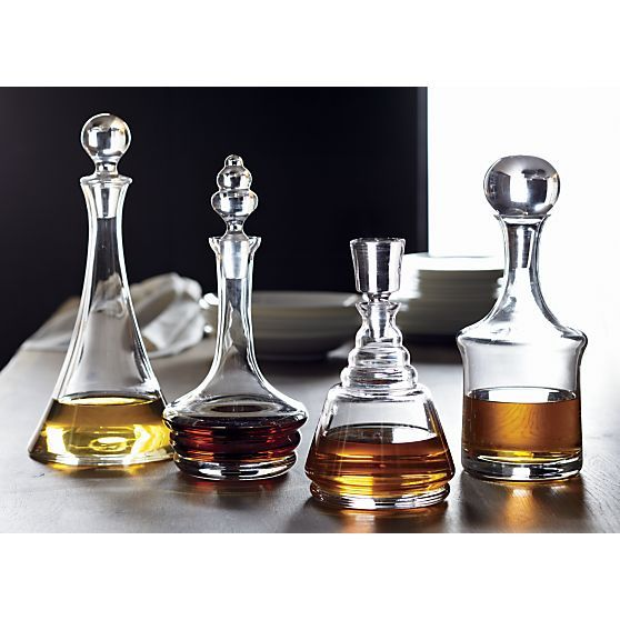 Wells Decanter in Pitchers and Decanters | Crate and Barrel