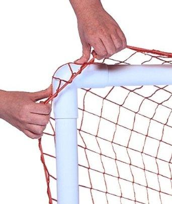 $17 Amazon.com: Park & Sun Bungee Slip Net, Orange: Sports & Outdoors for DIY PVC soccer goal