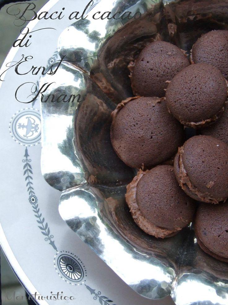 I tuoi baci non son semplici baci,  uno solo ne vale almeno tre: Baci al Cacao di Ernst Knam - Menuturistico