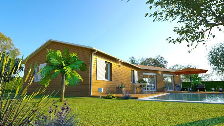 Découvrez ce projet de maison 120m2 réalisé par AMI BOIS  http://www.ami-bois.fr/?q=node/47