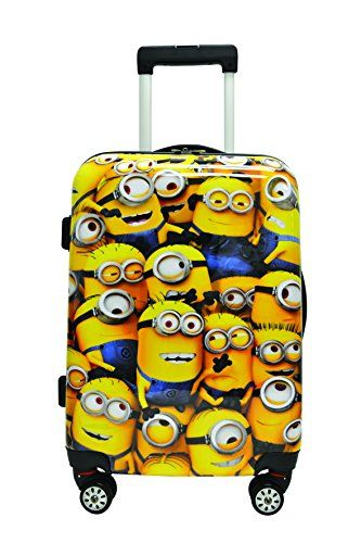 """Despicable Me - The Minions Tween Spinner 28"""" 4 Wheeler L..."""
